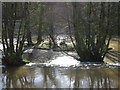 SO5074 : Mill Race below Dinham Weir by Raymond Perry