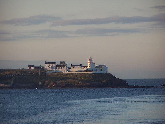 Lighthouse from the Swansea- Cork ferry