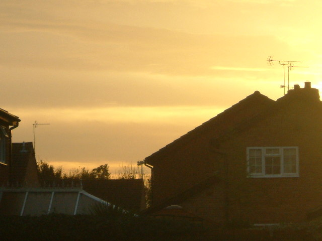 Sunrise looking towards Southampton Water
