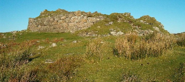 Dunbeg (or Dun Beag) Broch, Isle of Skye