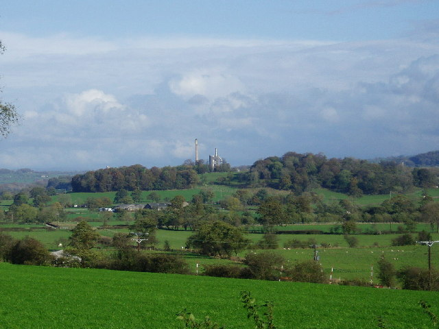 View across Ribble Valley