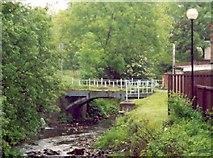 SS8591 : The Cast Iron 'Talbot Bridge,' Maesteg by David Lewis