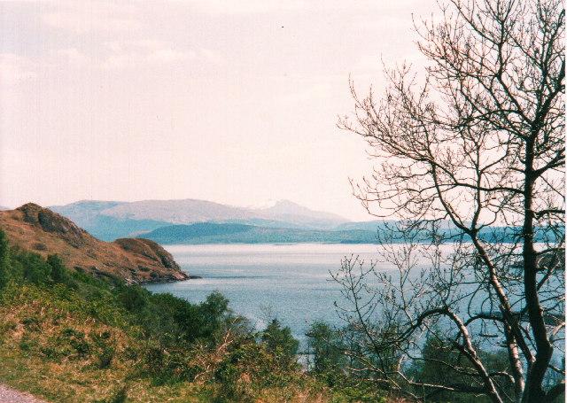 View across Loch Linnhe