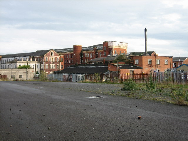 Barbour Threads Factory Complex at Hilden