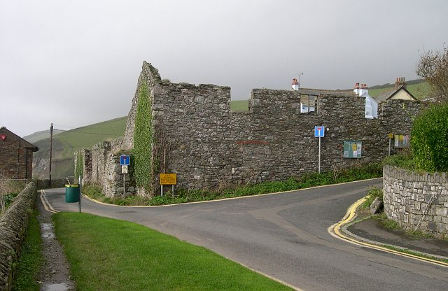 The old fish cellars, Portwrinkle