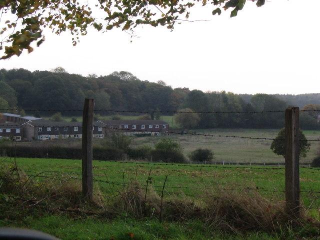 Sherborne St John village near Basingstoke