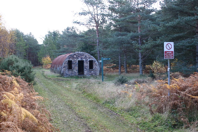 Nissen Hut near rifle range