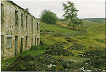 NY8046 : Barneycraig Level and Mine Buildings by Malcolm Street