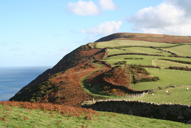 Combe Martin: South West Coast Path to Great Hangman