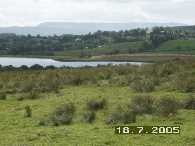 Scenic Fermanagh, Cuilcagh Mountain in background