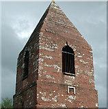 NY5231 : Close-up of Penrith Beacon, Cumbria by Simon Ledingham