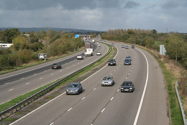 Cullompton: M5 Motorway