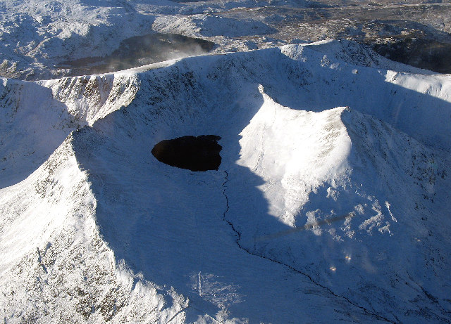 Helvellyn and Approaches in Winter