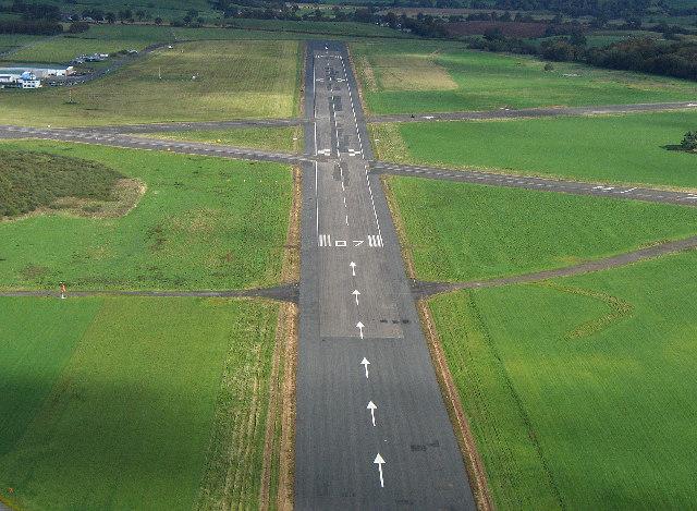 Runway 07 Carlisle Airport