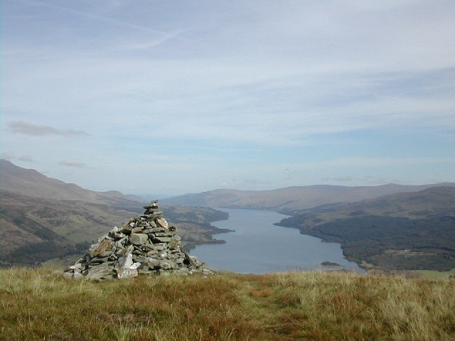 Loch Tay from Sron a Chlachain