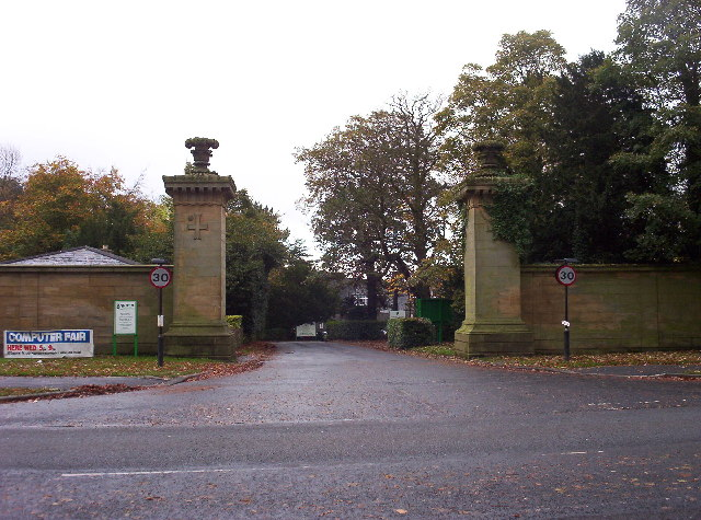 Gates of Newcastle Racecourse