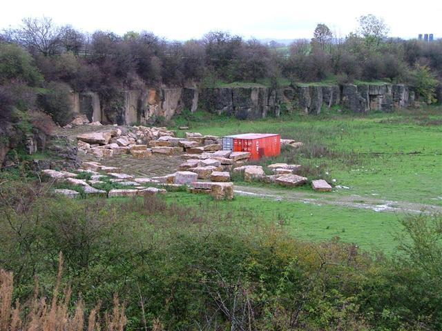 Recently Reopened Quarry, Little Hangbank