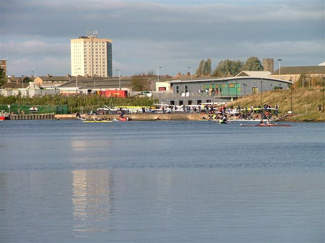 Rowers on the Tees