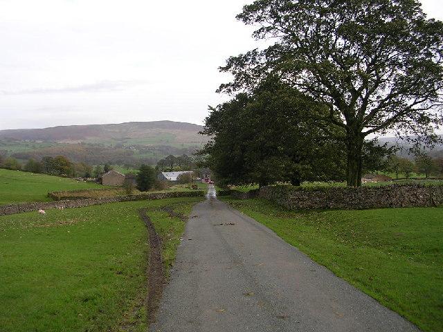 Bolton Abbey to Halton East road