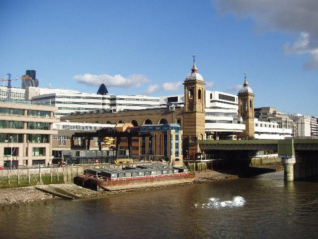 Walbrook Wharf. River Thames