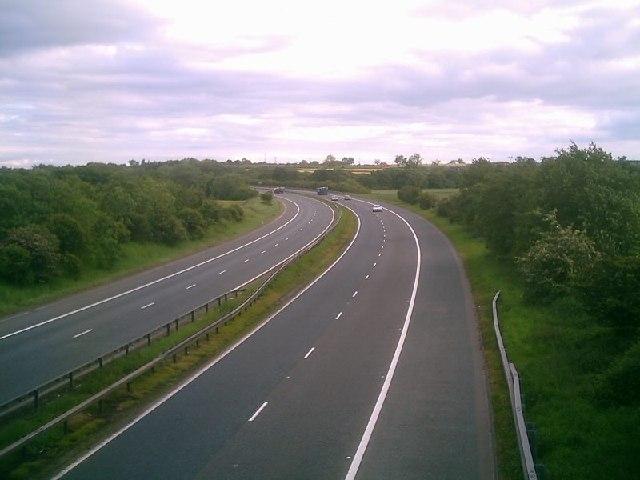 A1(M) Motorway, Merrybent, Darlington