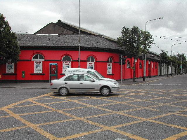 Former Albert Street station, Cork