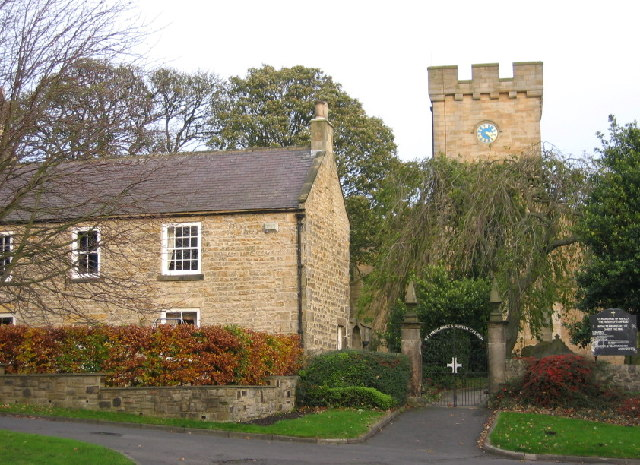 The tower of St Margaret's, Tanfield