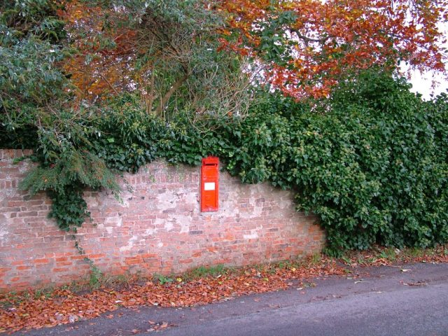 Victorian Post Box, Low Dinsdale