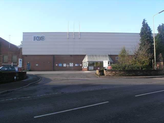Fox's biscuit factory, Uttoxeter, Staffs.