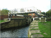 SE2833 : St Ann's Ing Lock by Mark Morton