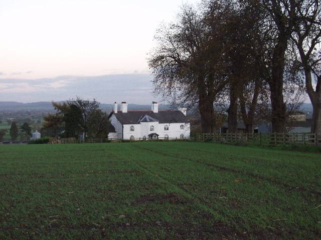 Hoseley Bank House and farm buildings