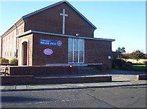 NZ3571 : Cullercoats Methodist Church by Weston Beggard