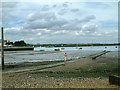 TQ7869 : The Strand public slipway, Gillingham, Kent. by Chris Plunkett
