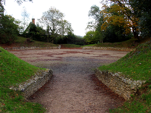 Entrance to the Amphitheatre at Calleva Silchester