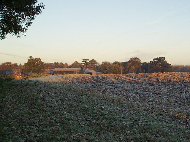 Crewe Hall farm