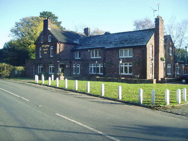 Whipping Stocks pub near Peover