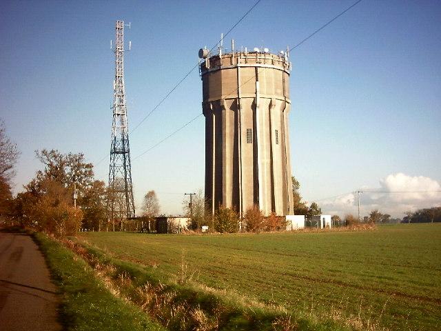 Sibton Water Tower