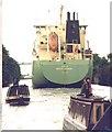 SJ6287 : Ship Canal Centenary Fleet at Knutsford Road, 1994 by David Long