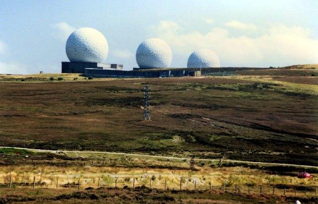 RAF Fylingdales pre-1992