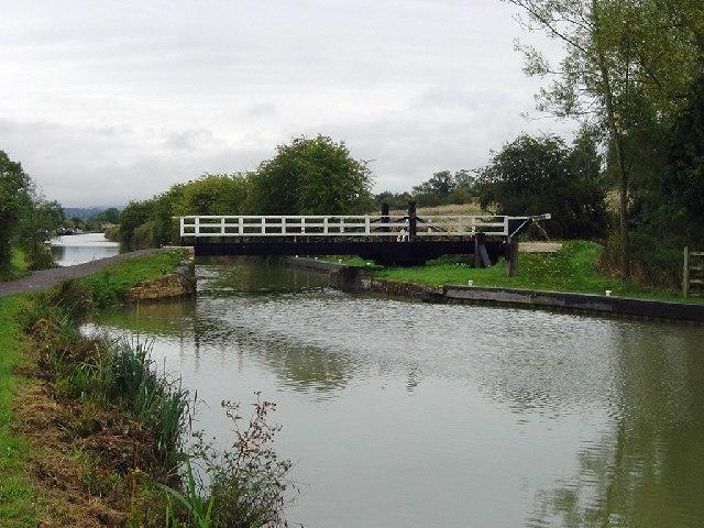 Rusty Lane Swing Bridge looking to the East