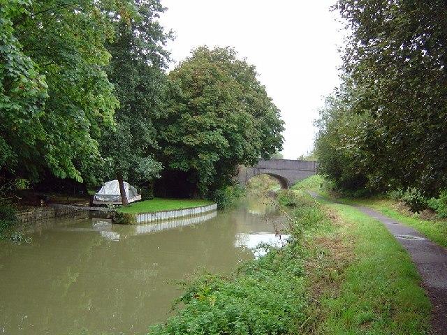 Kennet & Avon Canal, Martinslade Bridge