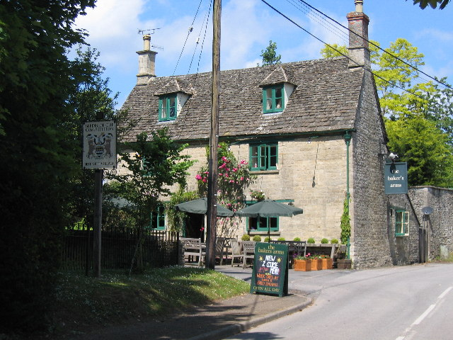 Image result for the bakers arms somerford keynes