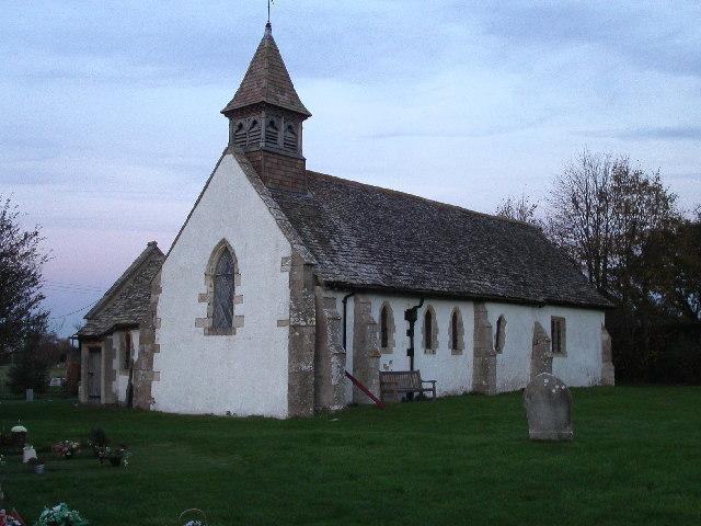 All Saints church, Goosey
