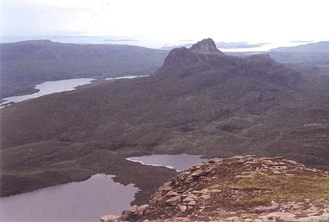 Stac Pollaidh from Cul Mor
