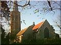 TM3055 : All Saints Church, Wickham Market by Adrian Cable