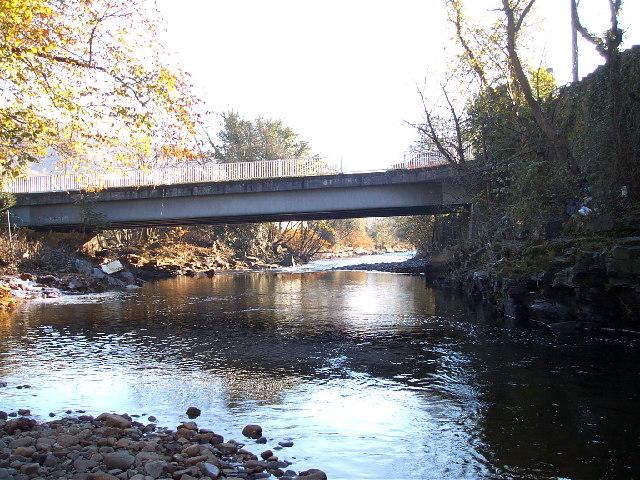 Pont Rhun Troedyrhiw by nantcoly