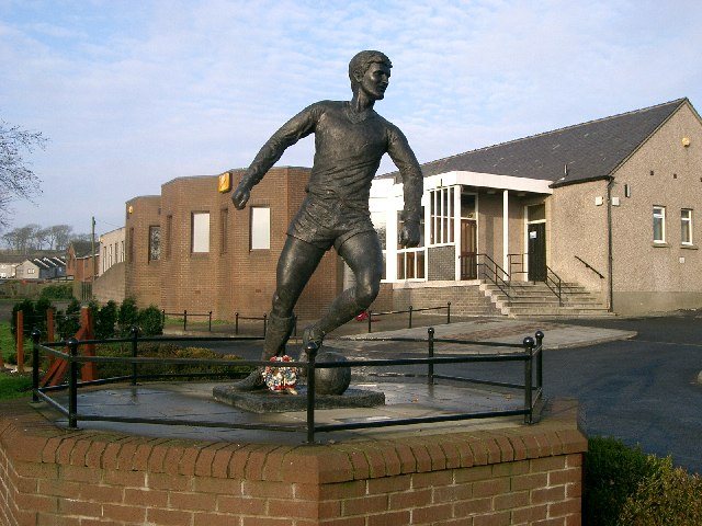 Statue of Jim Baxter