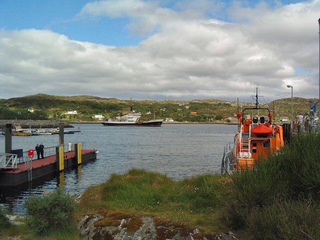 Lifeboat Pier, Lochinver