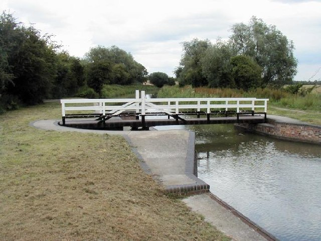 The Allington Swing Bridge Across the K and A Canal