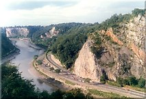 ST5673 : Avon Gorge from the bridge by Humphrey Bolton